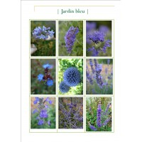 Collection jardin bleu